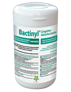 A NEW FORMULATION FOR THE BACTINYL® RANGE